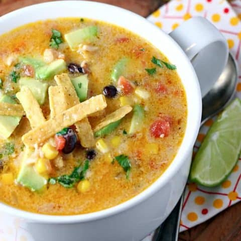 Creamy Southwest Corn Chowder