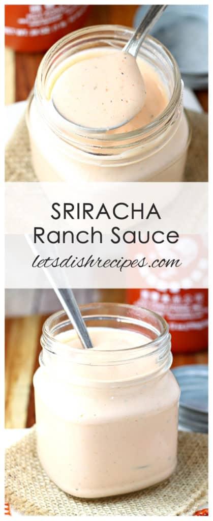 Sriracha Ranch Sauce