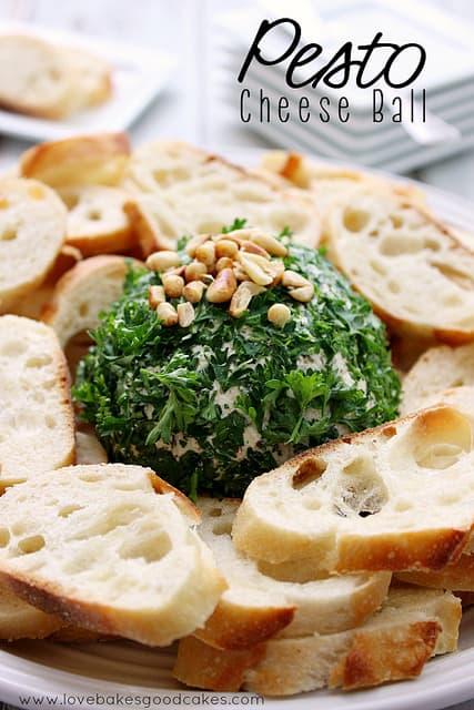 Pesto Cheese Ball