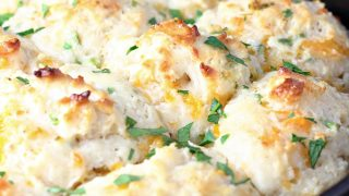 Garlic Cheddar Chive Drop Biscuits