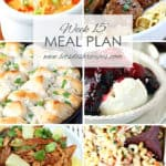 Meal Plan 15