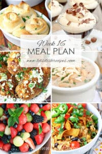 Easy Meal Plan 16