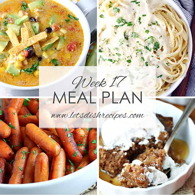 Easy Meal Plan 17