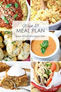 Meal Plan 18