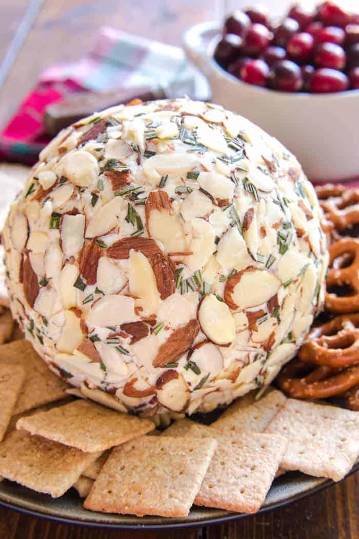 Swiss Almond Cheese Ball