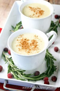Homemade Egg Free Eggnog