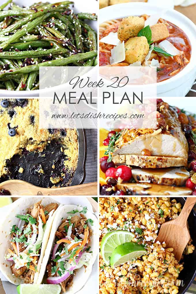 Meal Plan 20