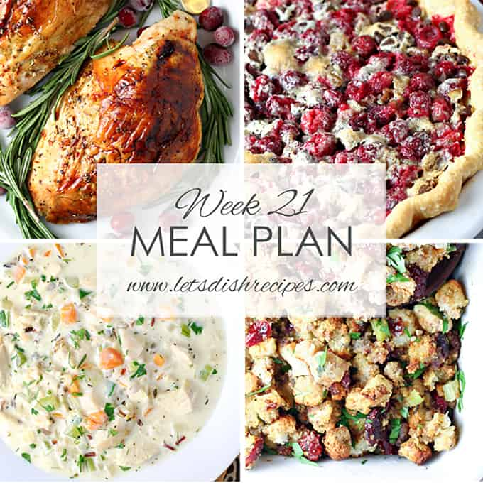 Easy Meal Plan 21