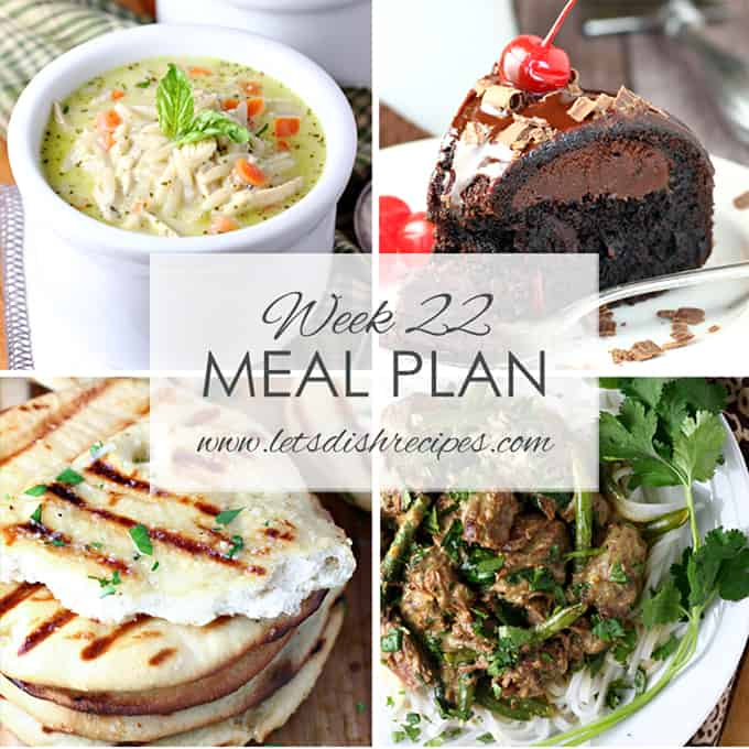 Easy Meal Plan 22