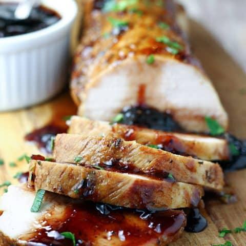 Slow Cooker Cherry Balsamic Pork Tenderloin Let S Dish Recipes,Gourmet Food Online Order
