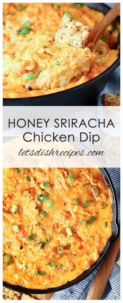 Honey Sriracha Chicken Dip