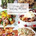 Meal Plan 23