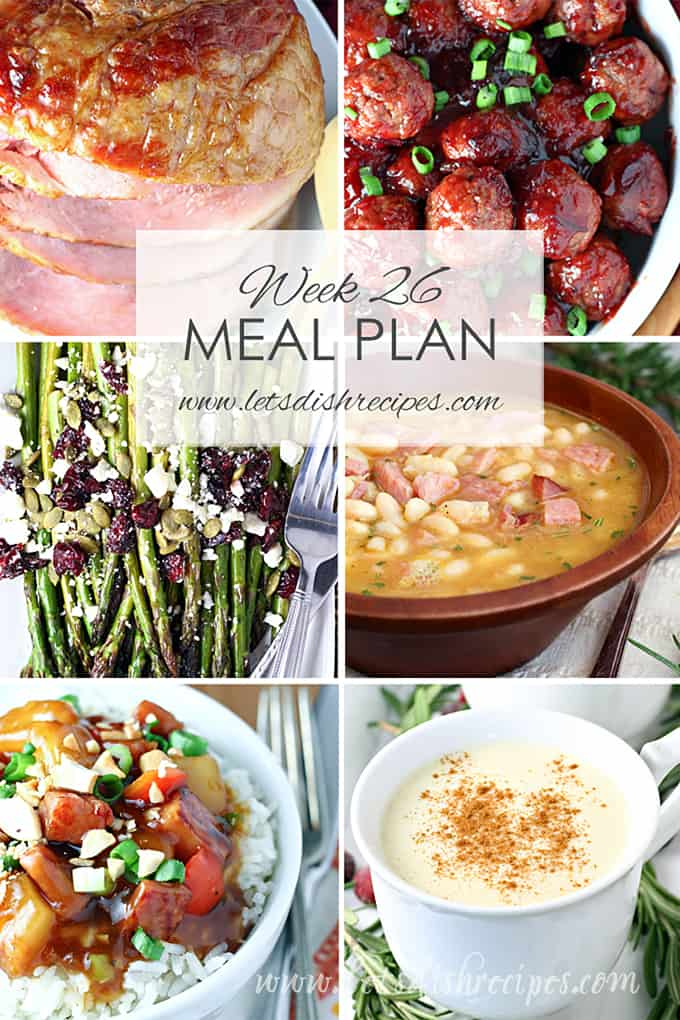 Easy Meal Plan 26