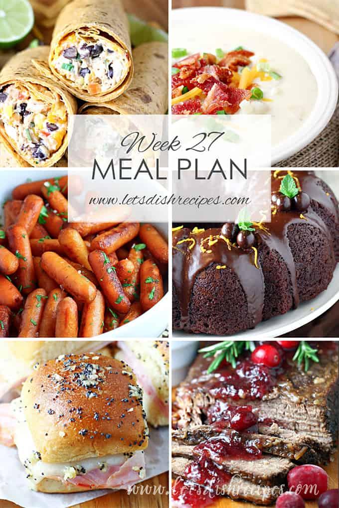 Meal Plan 27