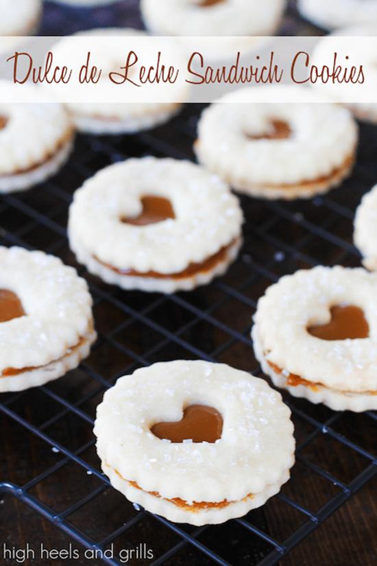 Dulche De Leche Cookies