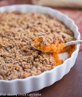 Praline Topped Sweet Potato Casserole