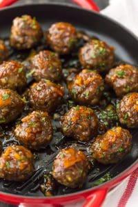 Orange Marmalade Meatballs