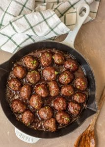 Sweet and Spicy Cocktail Meatballs