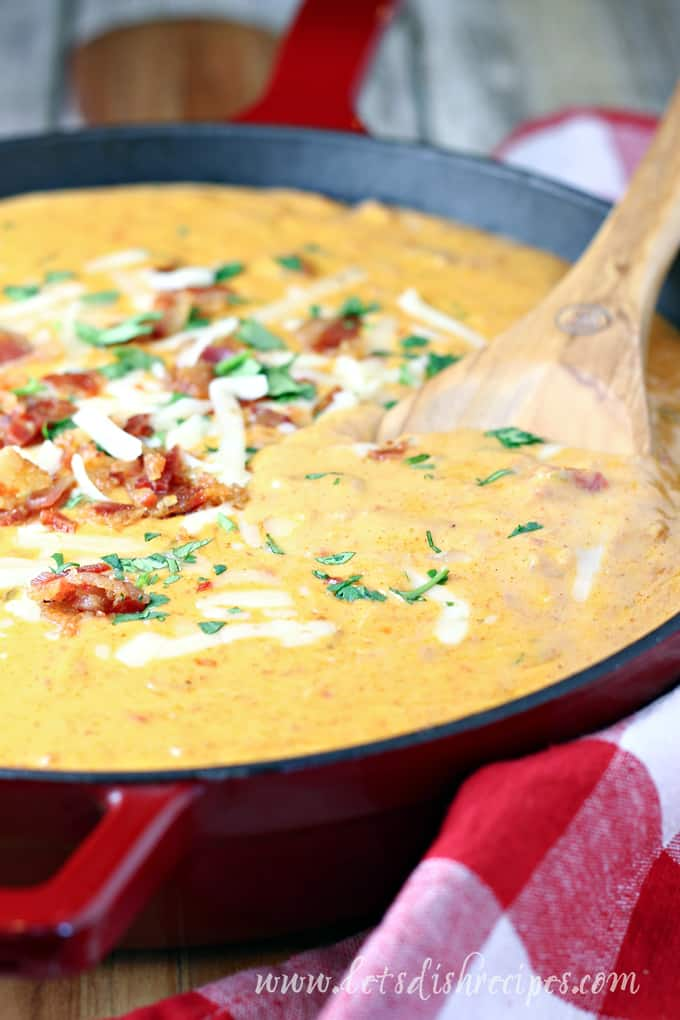 Chorizo Bacon Queso