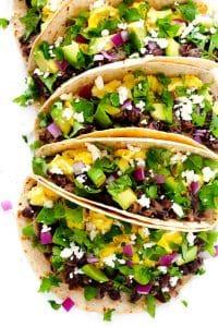 The Best Black Bean Breakfast Tacos