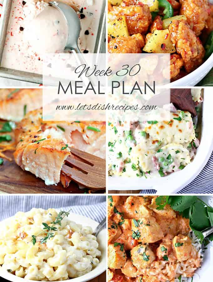 Easy Meal Plan 30