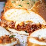 Italian Sloppy Joe Sub Sandwiches