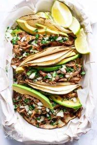 Slow Cooker Barbacoa Short Rib Tacos