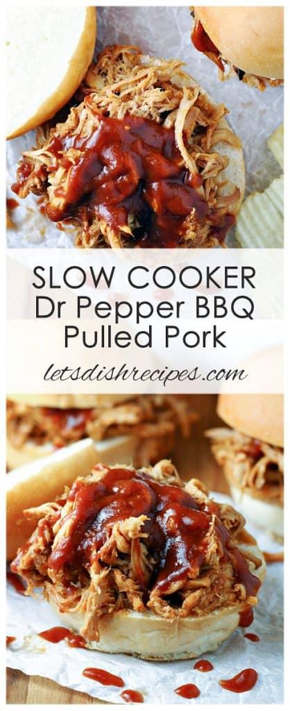 Slow Cooker Dr Pepper Pulled Pork