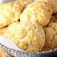 Honey Butter Biscuits (Church's Chicken Copycat)