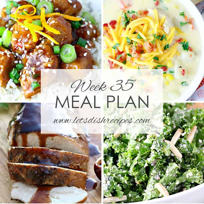 Easy Meal Plan 35