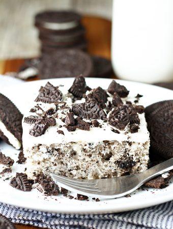 Cookies and Cream Sheet Cake