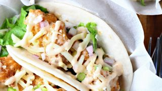 Spicy Ranch Chicken Tacos