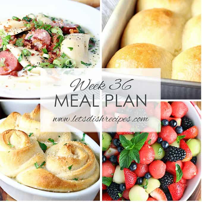 Meal Plan 36