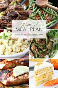 Meal Plan 37