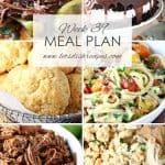 Weekly Meal Plan 39