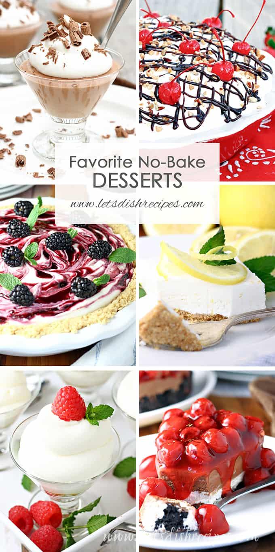 Favorite No Bake Desserts