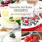 Favorite No Bake Desserts
