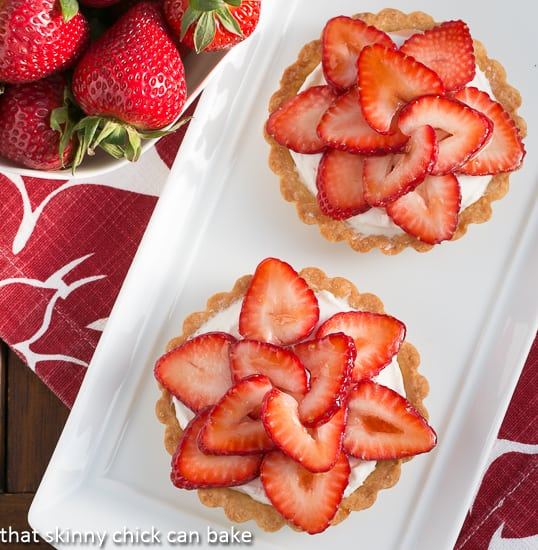 Fresh Strawberry Tartlets