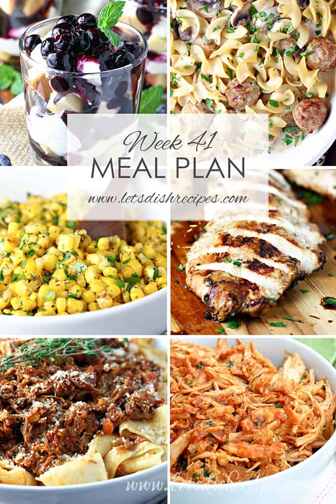 Easy Meal Plan 41