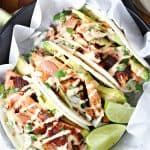 Chile Lime Salmon Tacos