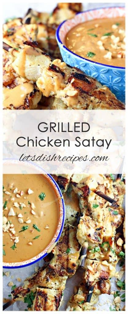 Grilled Chicken Satay