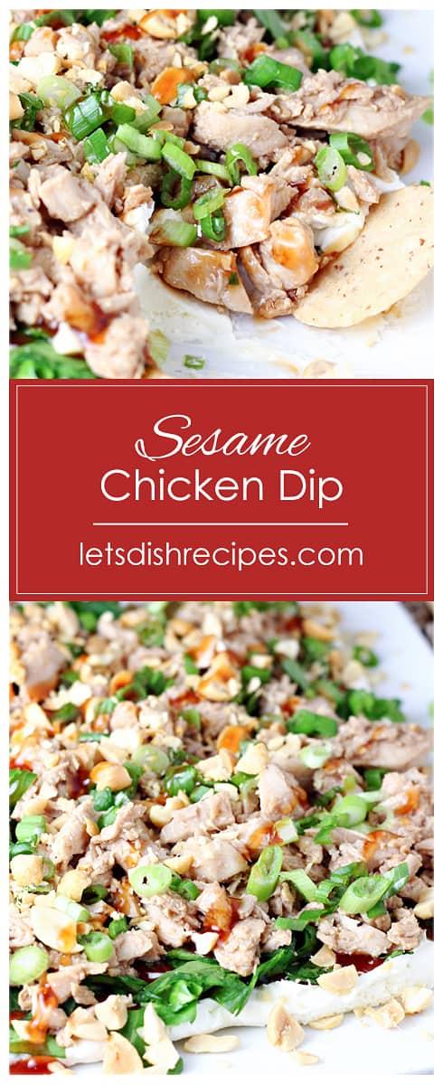 Sesame Chicken Dip