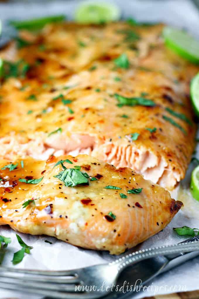 Sweet Cilantro Lime Salmon