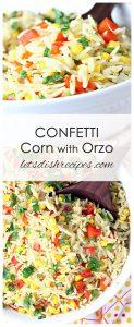 Confetti Corn with Orzo