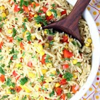 Confetti Corn with Orzo