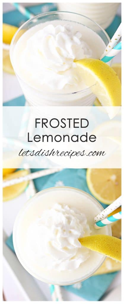 Copycat Chic-Fil-A Frosted Lemonade
