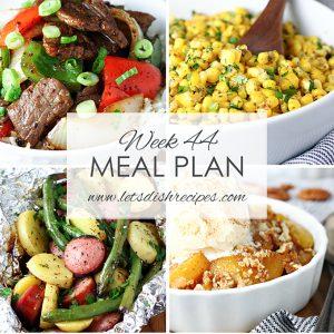 Meal Plan 44