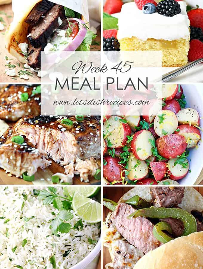 Meal Plan 45