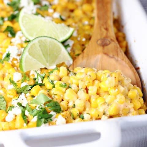 Mexican Street Corn Casserole