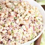 Coleslaw Pasta Salad